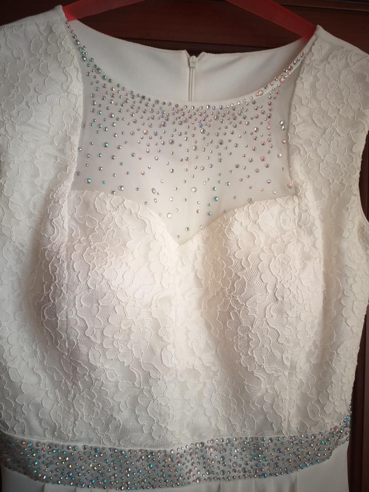 Luxusné popolnočné šaty - Obrázok č. 3