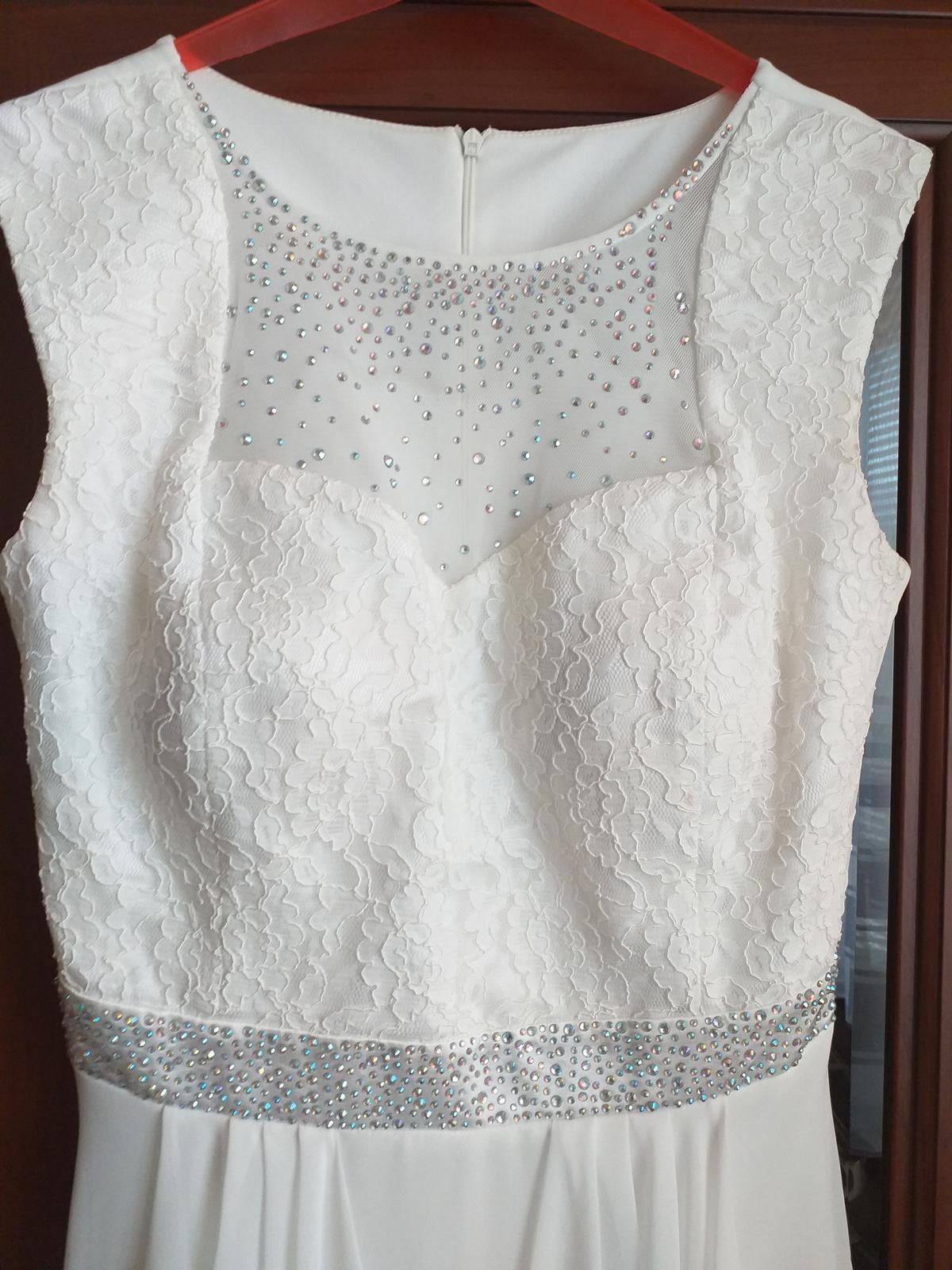 Luxusné popolnočné šaty - Obrázok č. 4