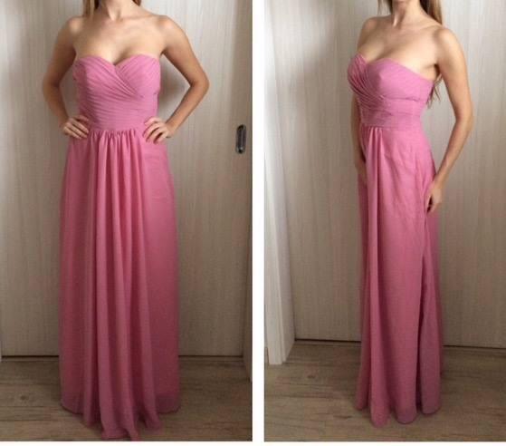 Čo už máme - Družičkovské šaty prišli, nie sú podľa našich predstáv takže sú na predaj :(