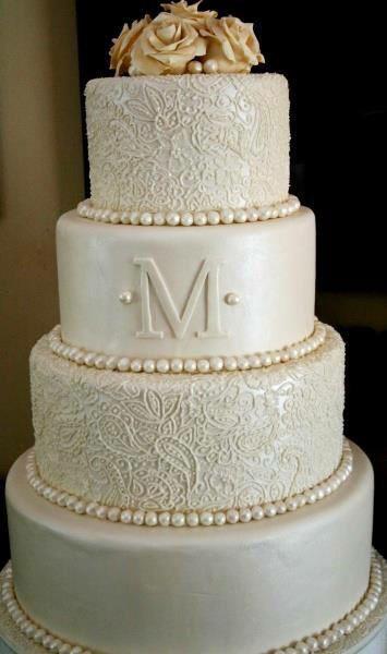 """Čo už máme - Naša budúca torta, len namiesto """"M"""" bude niečo iné :)"""