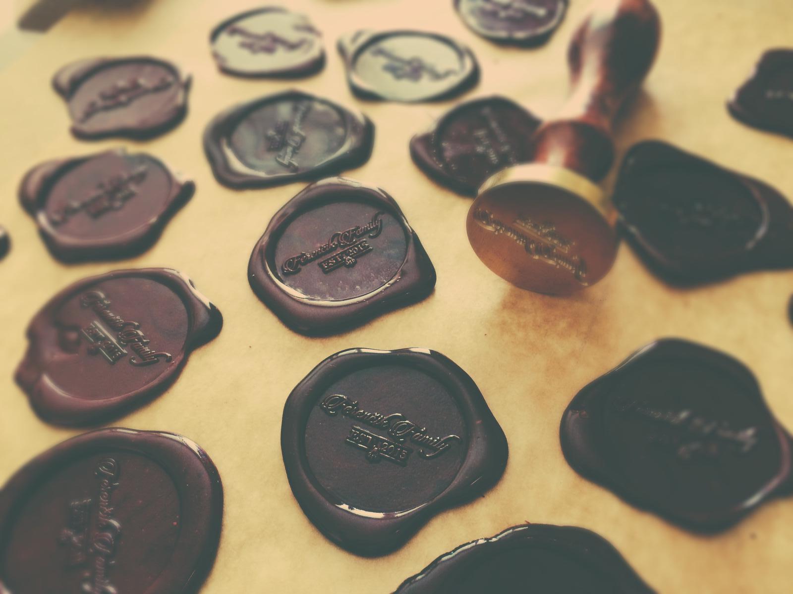 Čo už máme - Vyrábam pečate 😊