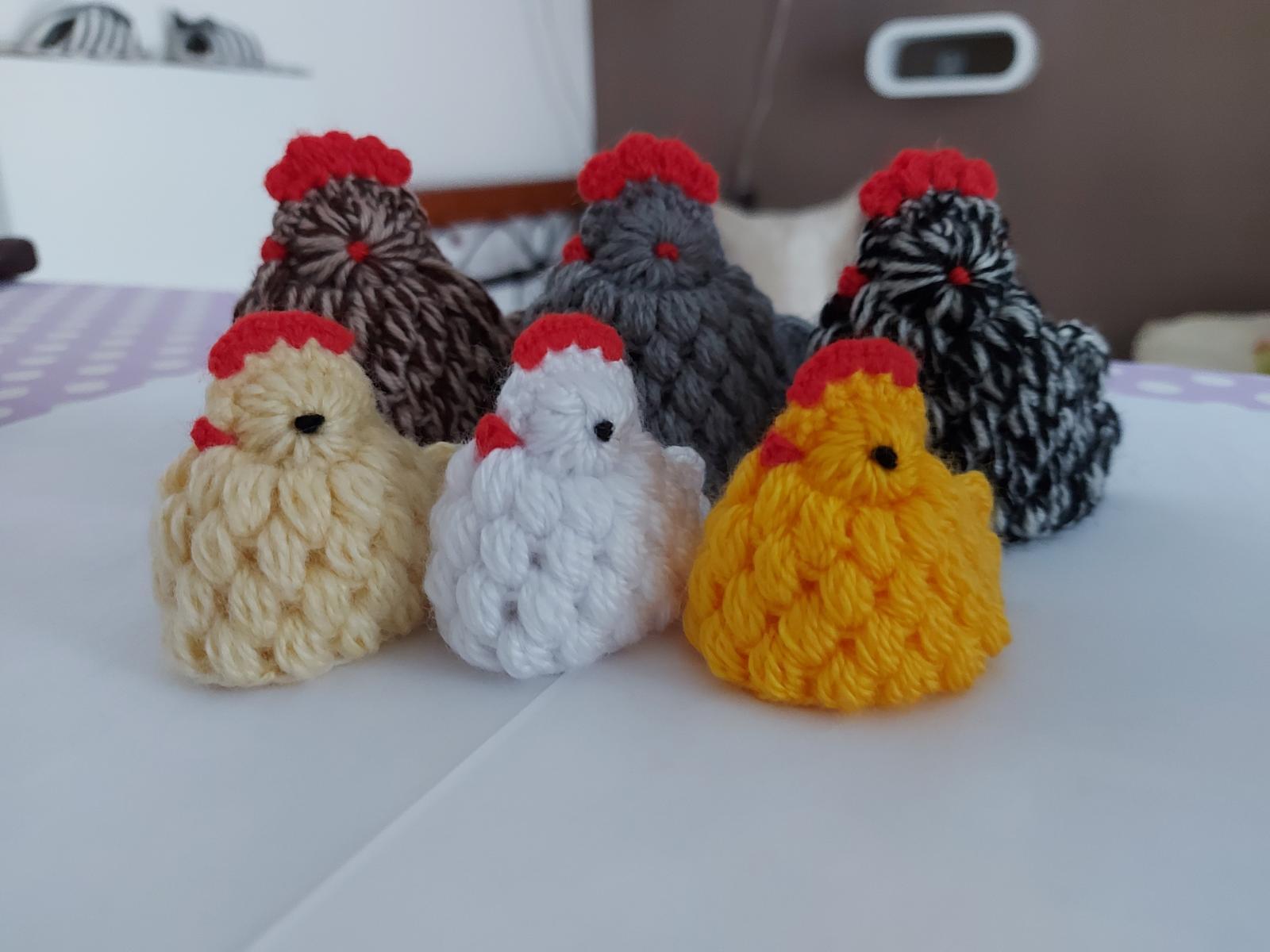 Veľká noc - vajíčko, kuriatko, zajačik, košíček - Obrázok č. 3