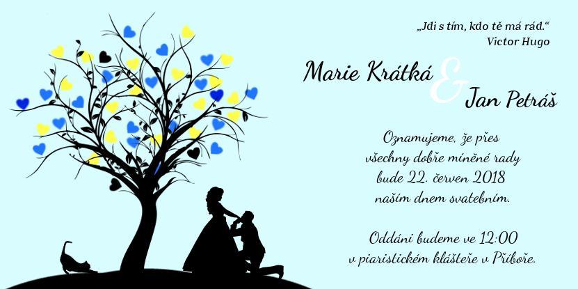 Naše oznámení, pozvánky ke... - Obrázok č. 1