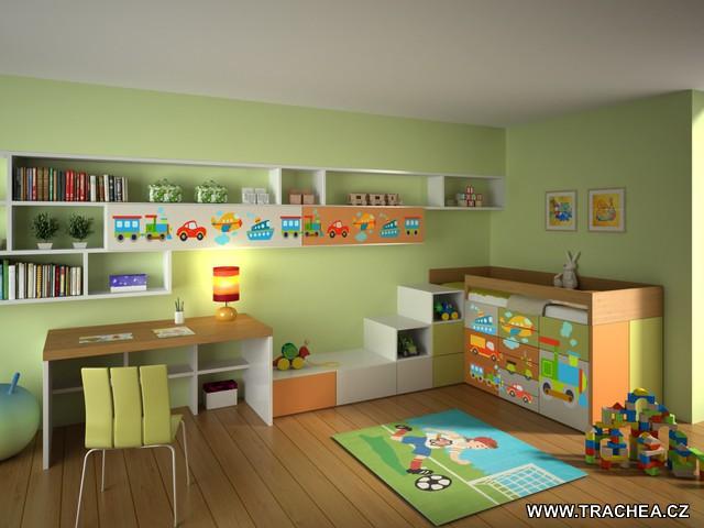 Autíčkový pokoj pro syna - Obrázek č. 7