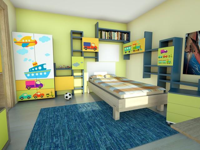 Autíčkový pokoj pro syna - Obrázek č. 8