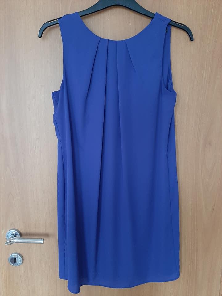 Modré šaty F&F - Obrázok č. 1