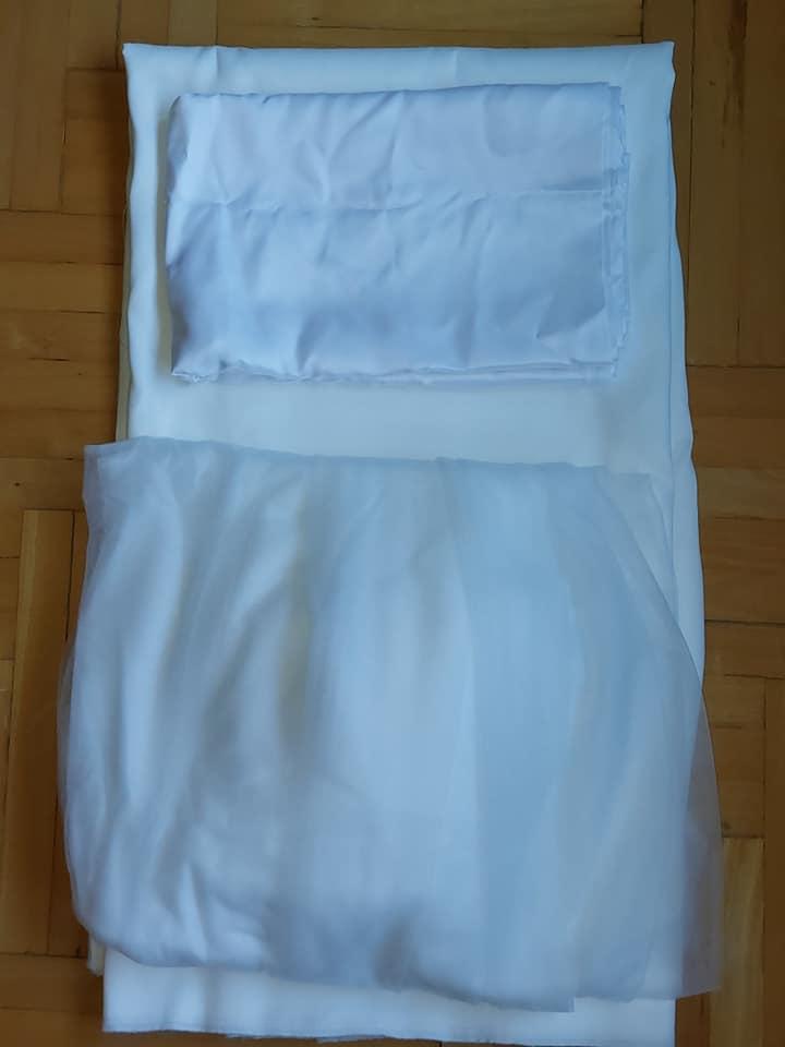 Látka na svadobné šaty - Obrázok č. 1