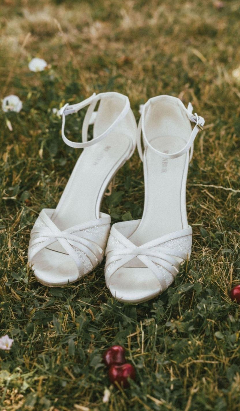 svadobné topánky veľkosť 39 - Obrázok č. 1