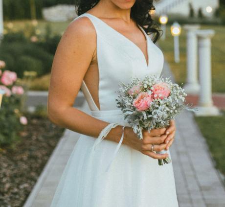 Svadobné šaty veľkost 36 - Obrázok č. 1