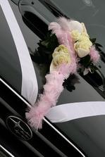 má kytička na autě...... :-)
