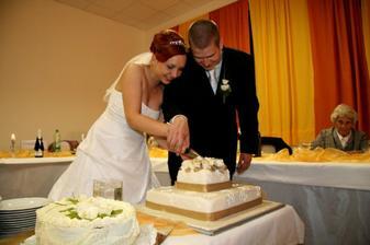 hlavná tortička- bola výborná