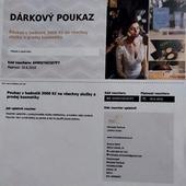 Dárkový poukaz na kosmetické služby Liberec,