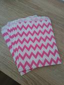 papierové sáčky, vrecká na sladkosti do candy baru,