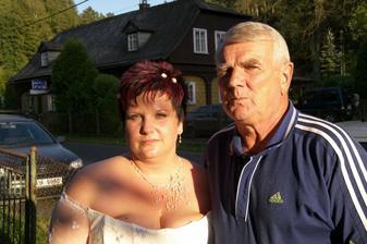 s tatínkem ženicha