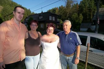 my a rodiče ženicha
