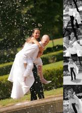 na svatební fotky...