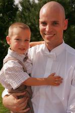 moj Misko s bratrancovym (pre zmenu) synom :o)
