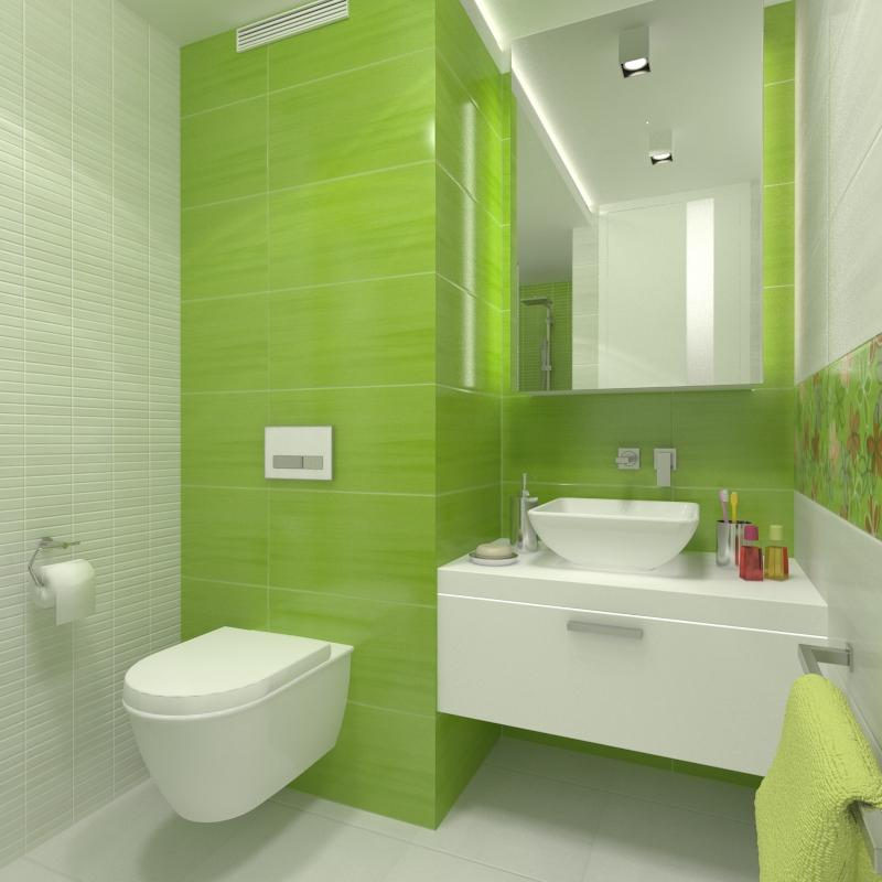 Koupelny - svezi koupelna urcena pro dve dospivajici deti