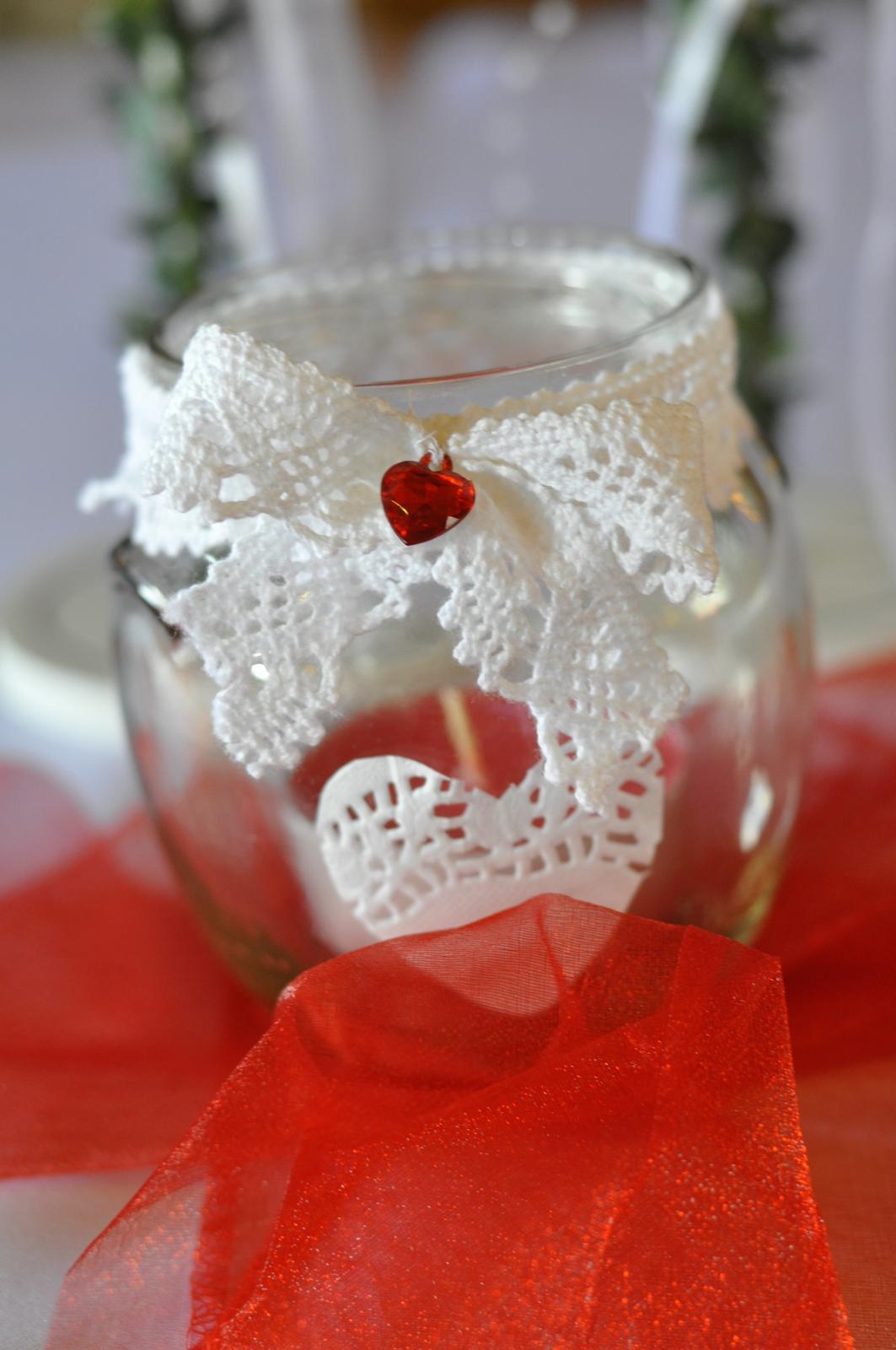 Ako sme si vytvorili našu svadbičku :) - svietničky...