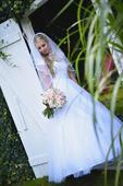 Svatební šaty Madora s tylovou sukní, 38