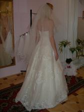 salon Evanie (šaty Italiano) zezadu