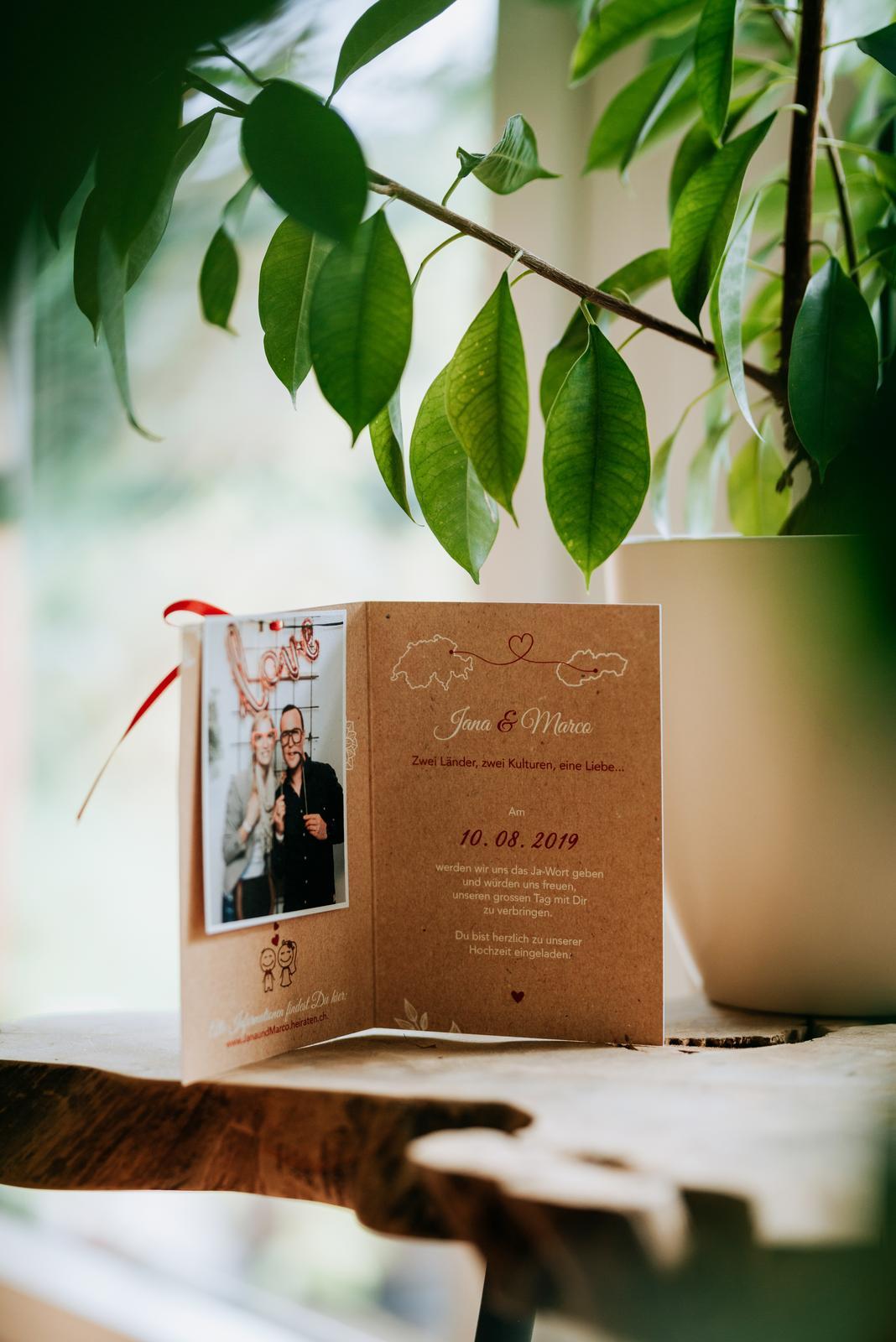 Personalizované svadobné oznámenie 🙂 - Obrázok č. 1