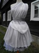 Skvostné popůlnoční/svatební od švadleny z hedvábí, 36