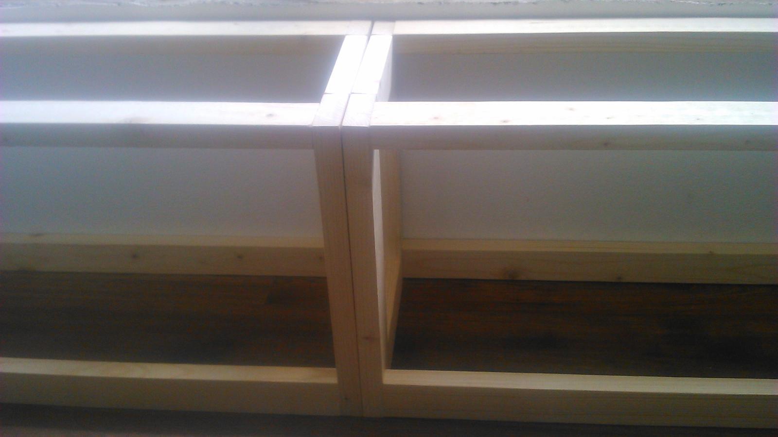 Ako sme vyrábali sedíliu po našom. Z materiálu....čo dom dal :-) - Obrázok č. 32