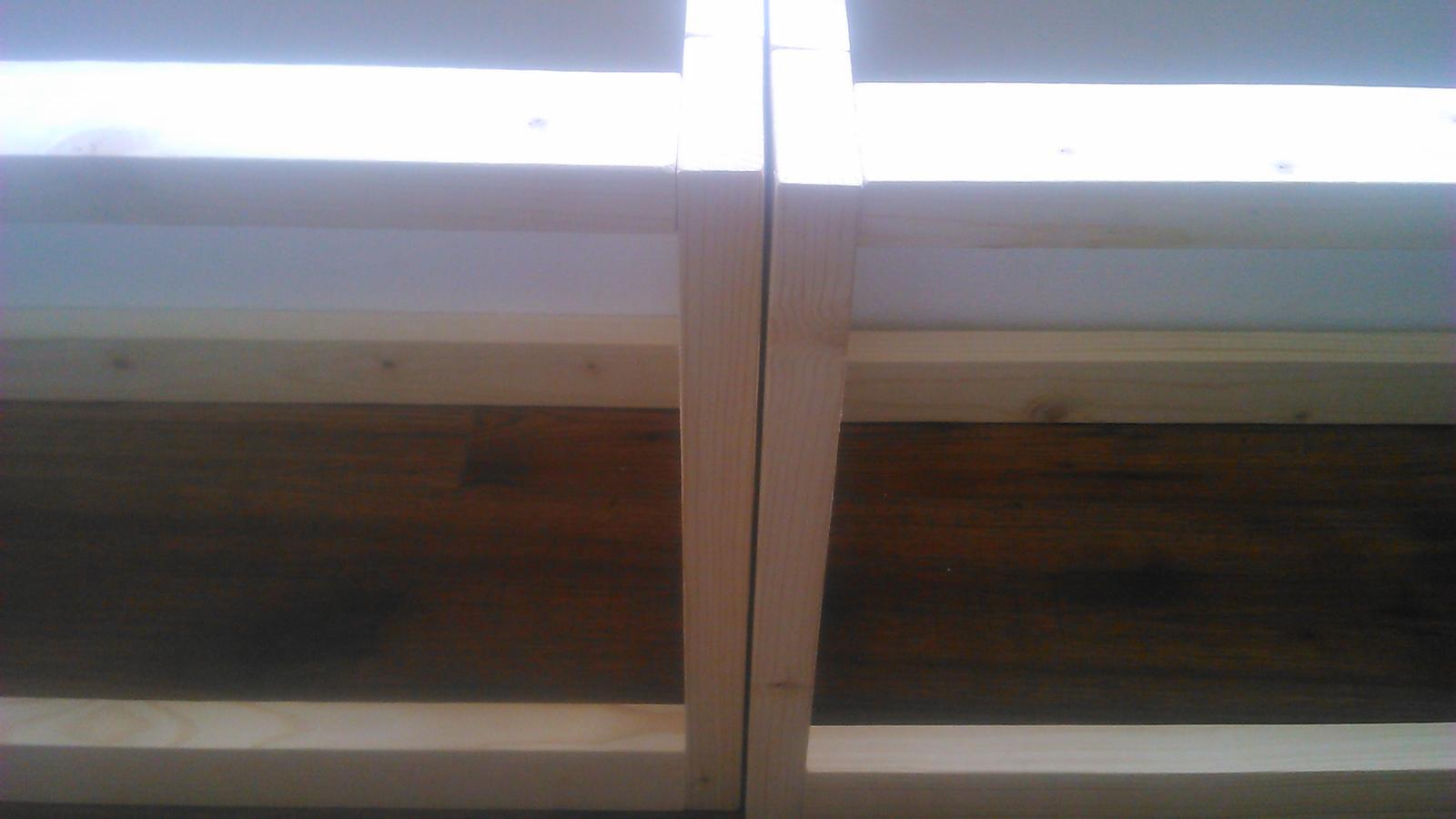Ako sme vyrábali sedíliu po našom. Z materiálu....čo dom dal :-) - Obrázok č. 34