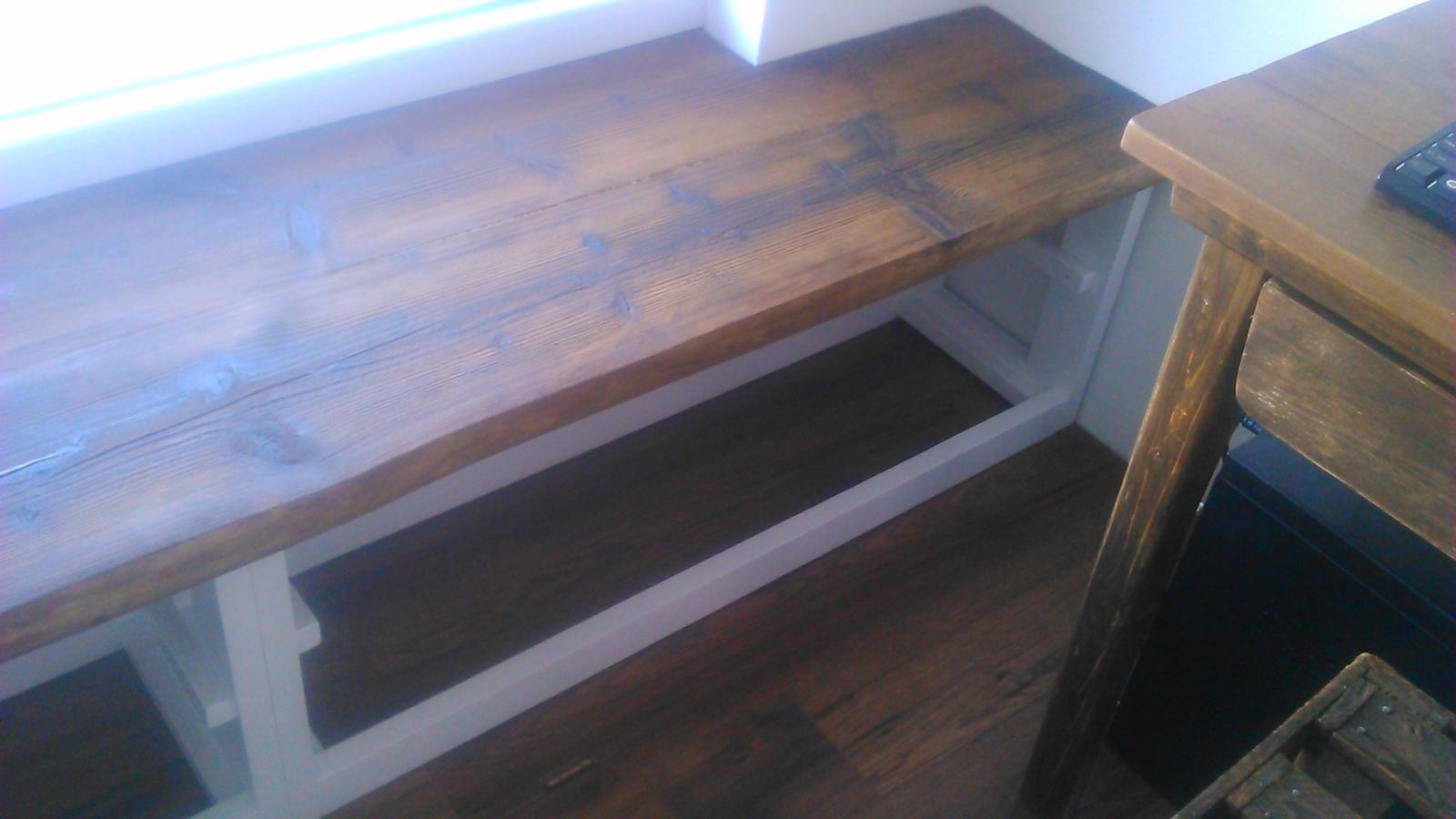 Ako sme vyrábali sedíliu po našom. Z materiálu....čo dom dal :-) - Obrázok č. 18