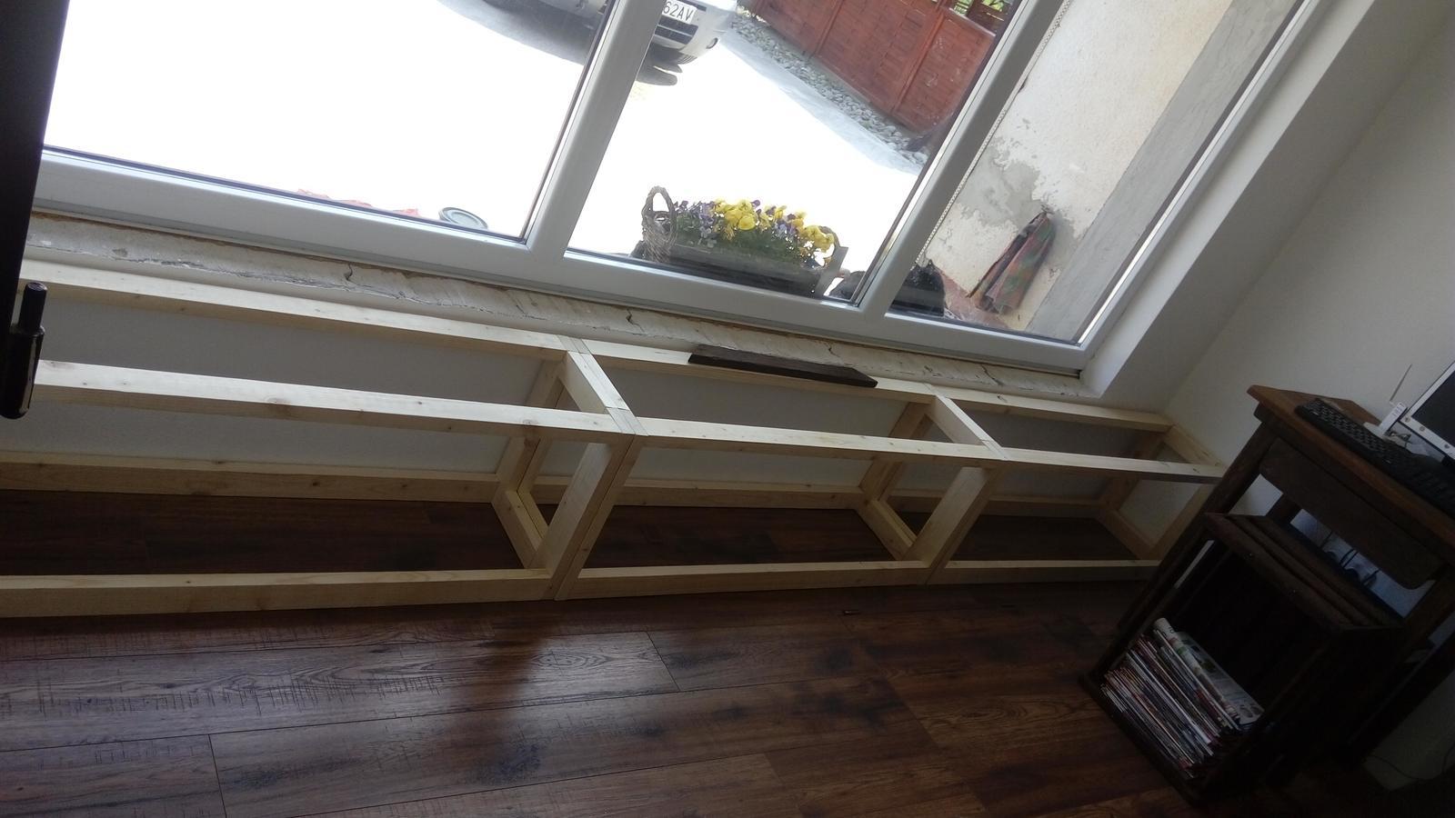 Ako sme vyrábali sedíliu po našom. Z materiálu....čo dom dal :-) - Obrázok č. 30
