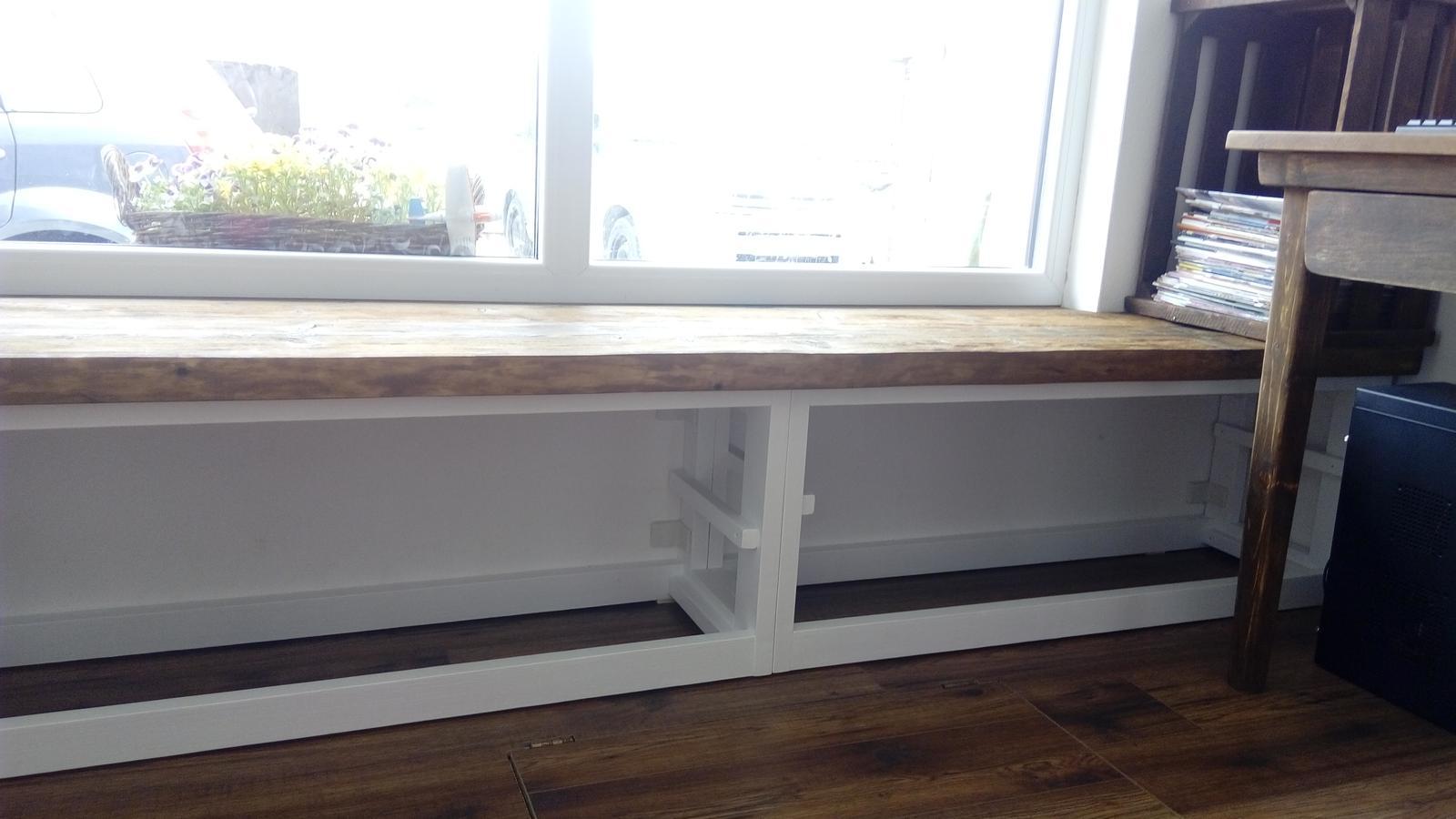 Ako sme vyrábali sedíliu po našom. Z materiálu....čo dom dal :-) - Obrázok č. 19
