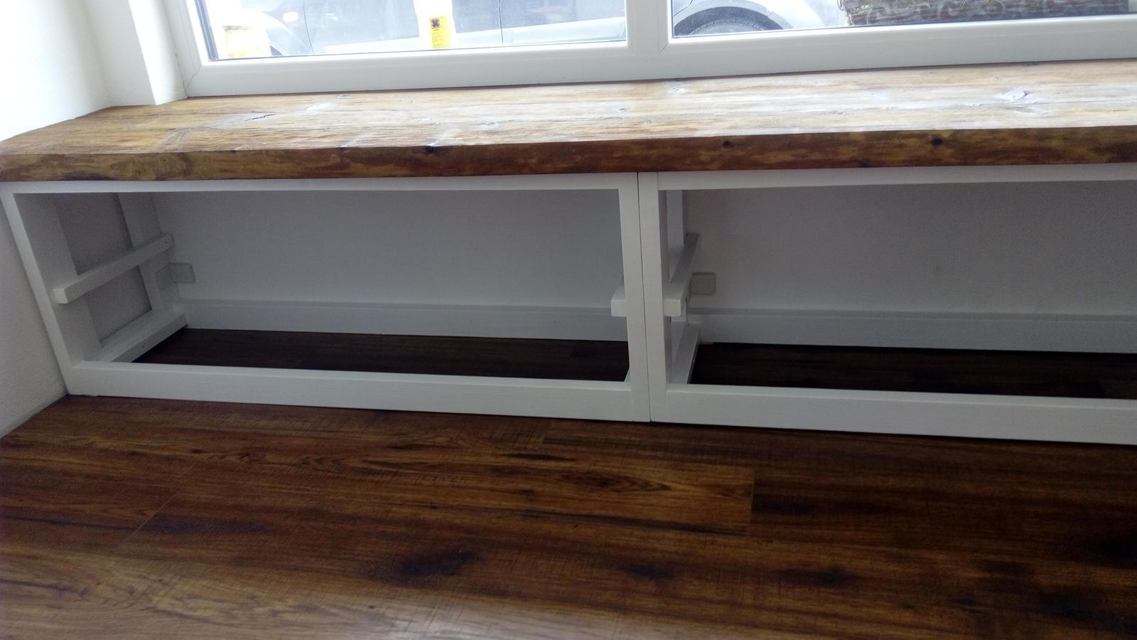 Ako sme vyrábali sedíliu po našom. Z materiálu....čo dom dal :-) - Obrázok č. 20