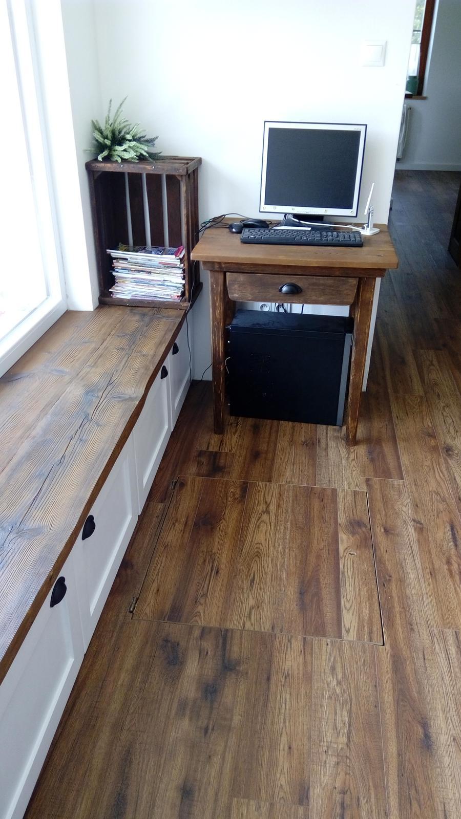 Ako sme vyrábali sedíliu po našom. Z materiálu....čo dom dal :-) - Obrázok č. 2