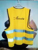"""Reflexné vesty s nápisom """"NEVESTA"""" """"ŽENÍCH"""","""