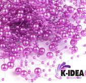 Perličky 7mm - fialová svetlá,