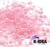 Perličky 7mm - ružová svetlá,