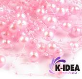 Perličky 12mm - ružová svetlá,