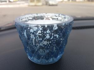 Modré svíčky z Jysku