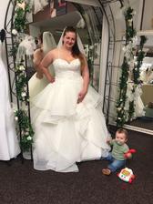 Nevěsta má vybrané šaty.. :)