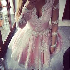 Druhá verze šatů pro mě..