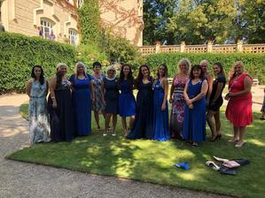 Dresscode pink blue  😅🤔