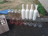 Vázy, lahve ,