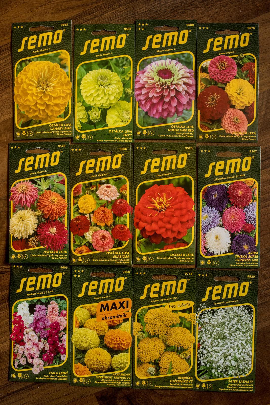 Vo víre kvetov... - Dnes mi dorazila dalsia varka semienok objednanych z eshopu a pomaly si zacinam uvedomovat, ze to pestovanie kvetov ma bude stat viac, ako keby som si ich kupila hotove :D