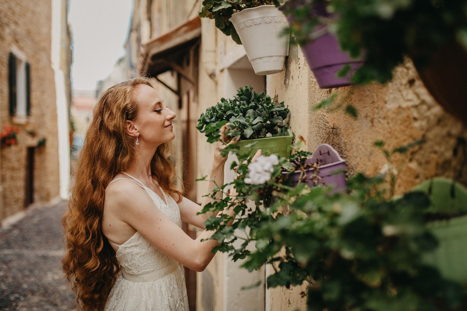 Naše svadobné fotenie na Sardínii - Zbožňujem sukulenty :-D