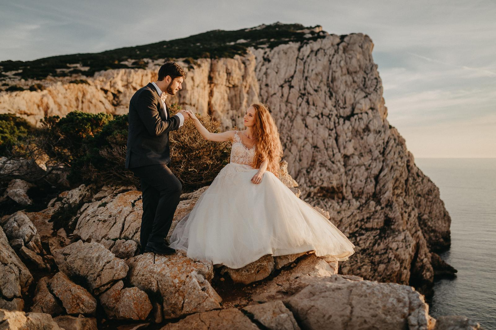 Naše svadobné fotenie na Sardínii - Obrázok č. 91