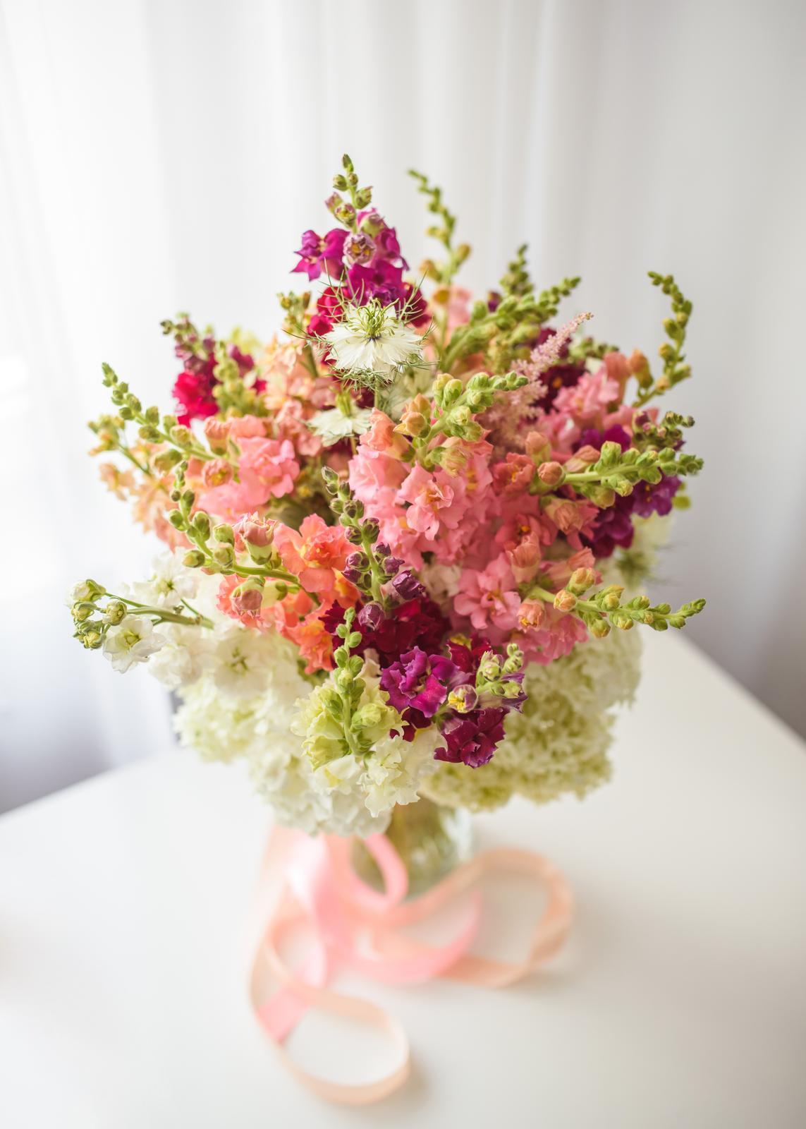 Moje kvetinové aranžmány - Obrázok č. 2