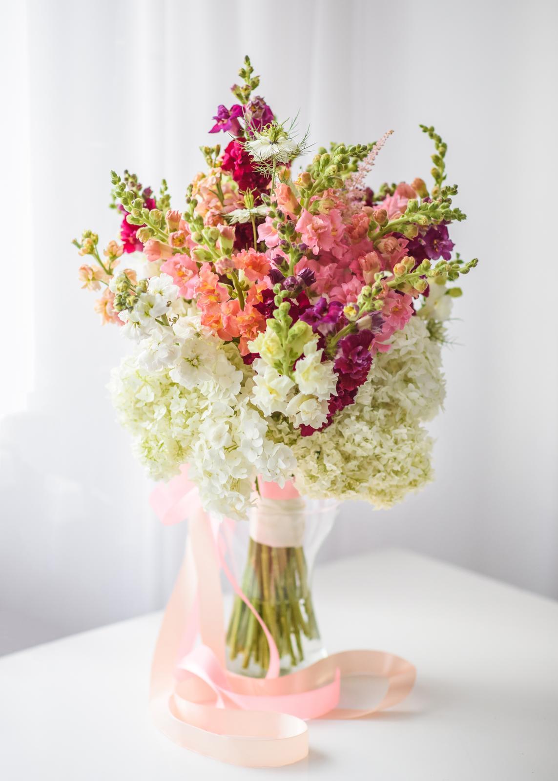 Moje kvetinové aranžmány - Obrázok č. 3