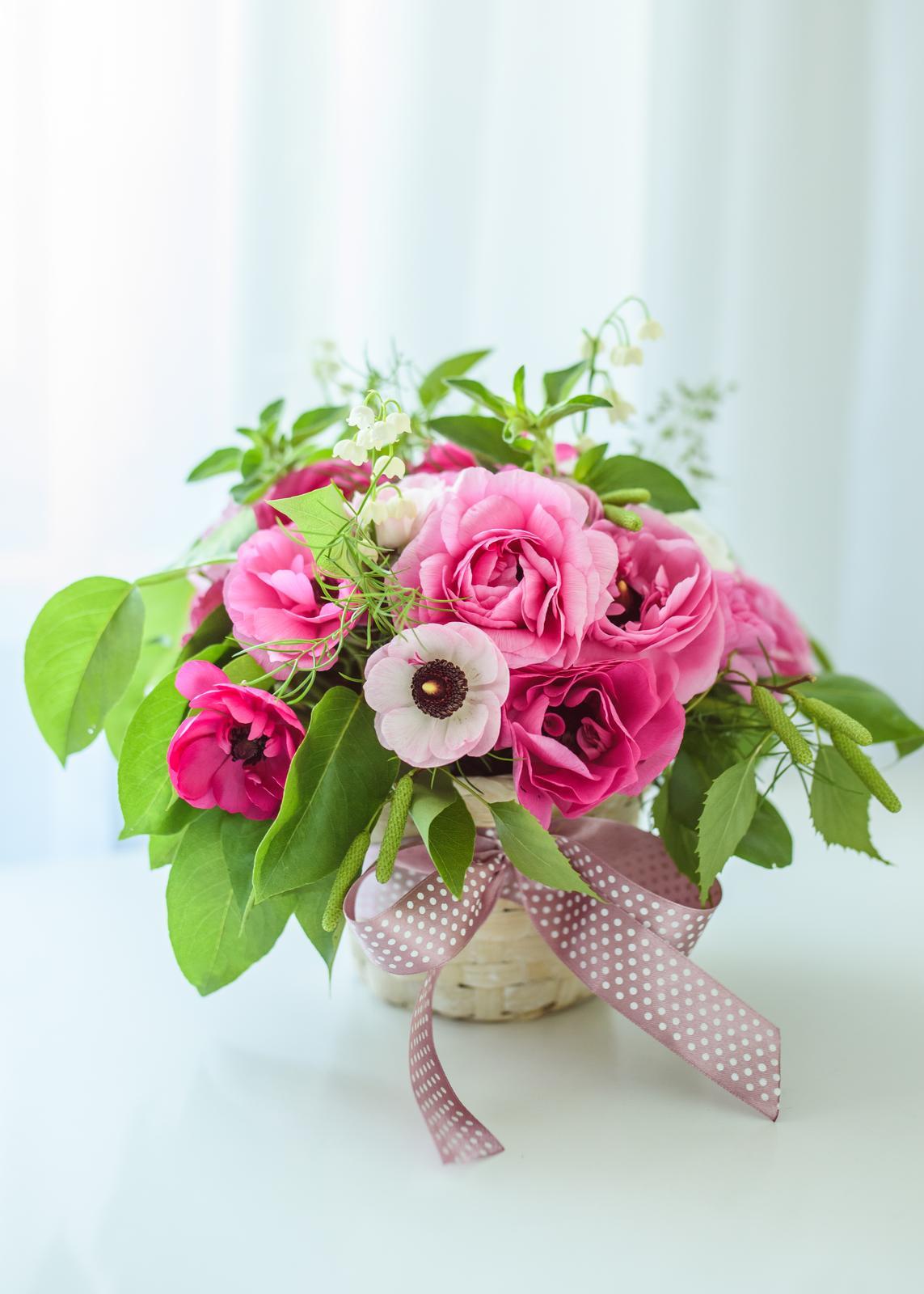 Moje kvetinové aranžmány - Obrázok č. 10