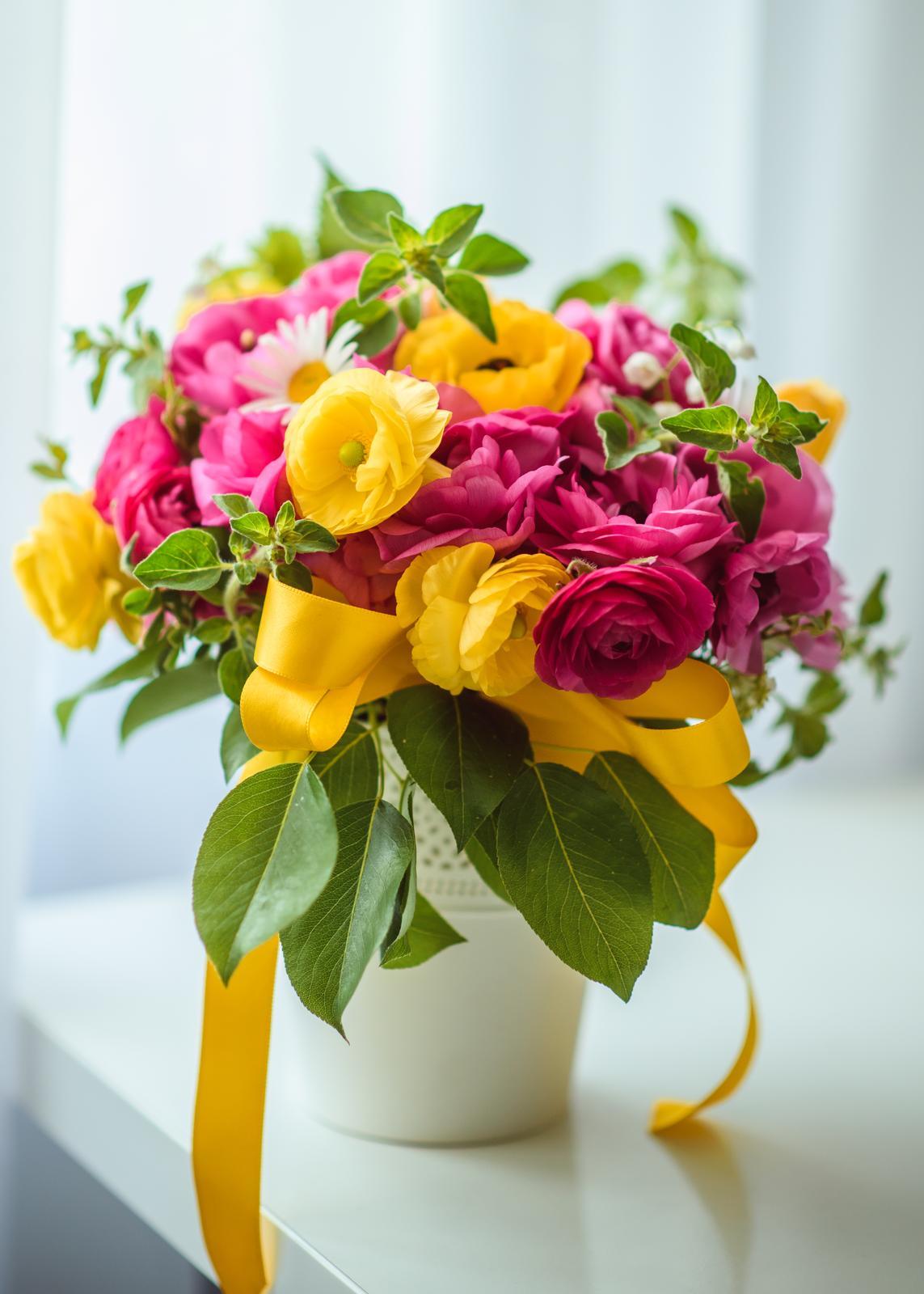 Moje kvetinové aranžmány - Obrázok č. 11